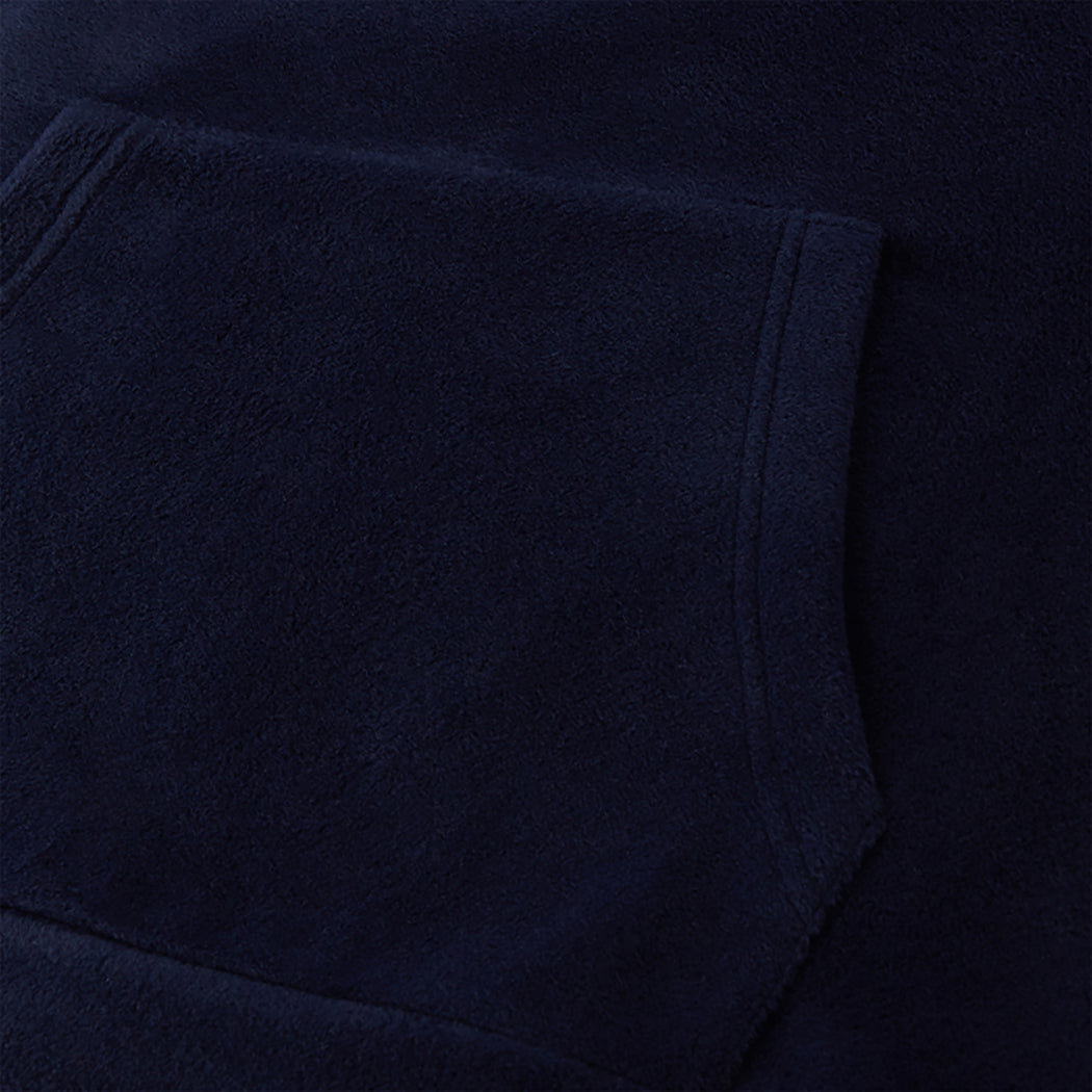 H2O Basic Blåvand Fleece Hoodie Hoodies 2500 Navy