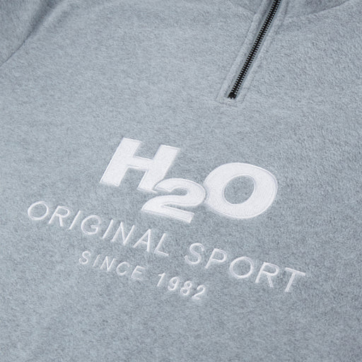 H2O Basic Blåvand Fleece Zip Sweatshirt 1020 Lt. Grey Mel