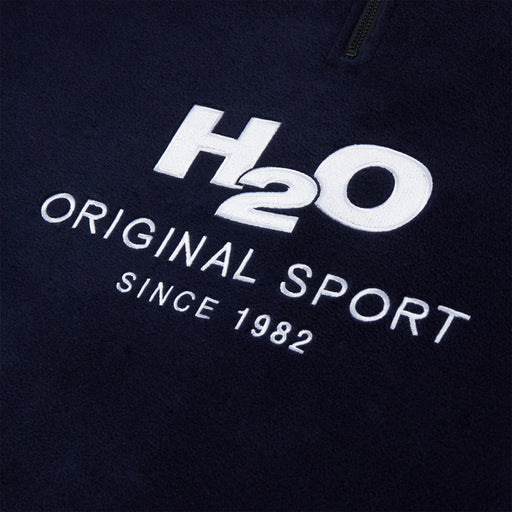 H2O Basic Blåvand Fleece Zip Sweatshirt 2500 Navy