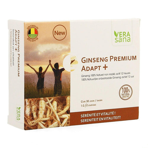Ginseng Premium Adapt Plus - Fatigue chronique, Burn Out, TDA/ TDAH, Fatigue sexuelle