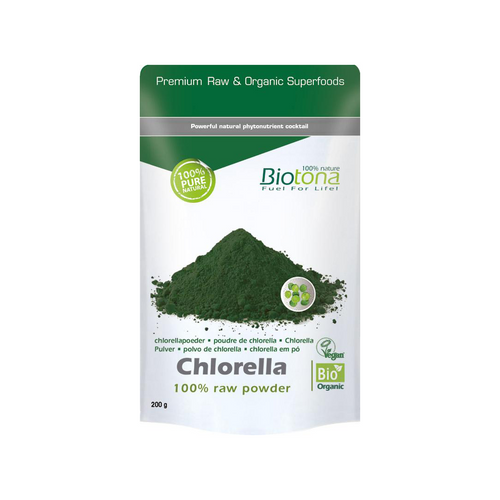 Chlorella - 100% raw powder — 200 g