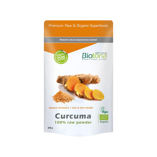 Curcuma - 100% raw powder — 200 g