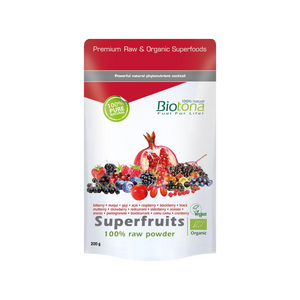 Superfruits 100% raw powder — 200 g