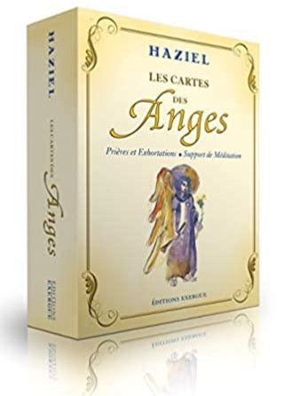Les cartes des Anges de Haziel - Support de méditation