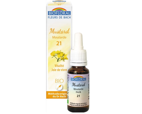 Moutarde - Mustard (n°21) BIO, 20 ml