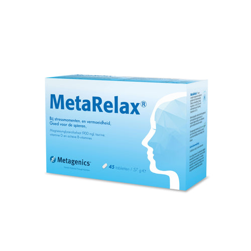 MetaRelax - Stress, fatigue et crampes musculaires