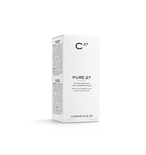 Pure 27 - Fluide Purifiant - Anti-Imperfections, 30 ml