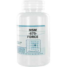 MSM - 675 - Force - 90 capsules