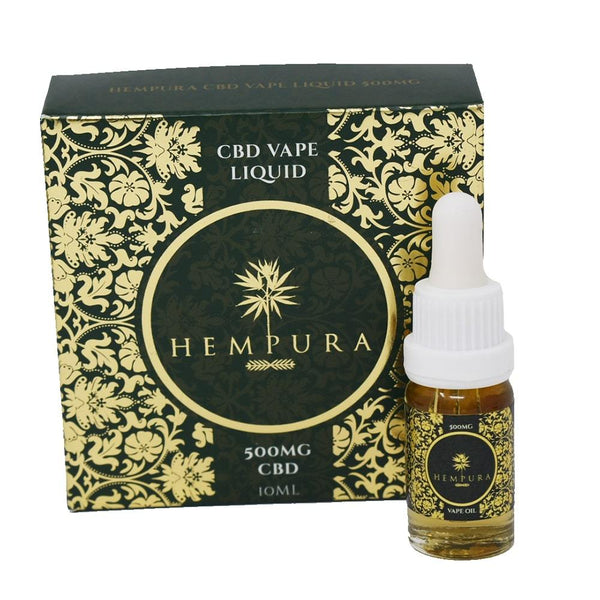 Hempura 500mg CBD Vape Liquid – Citrus Terpene Profile (10ml) - OIKOSPIRAL
