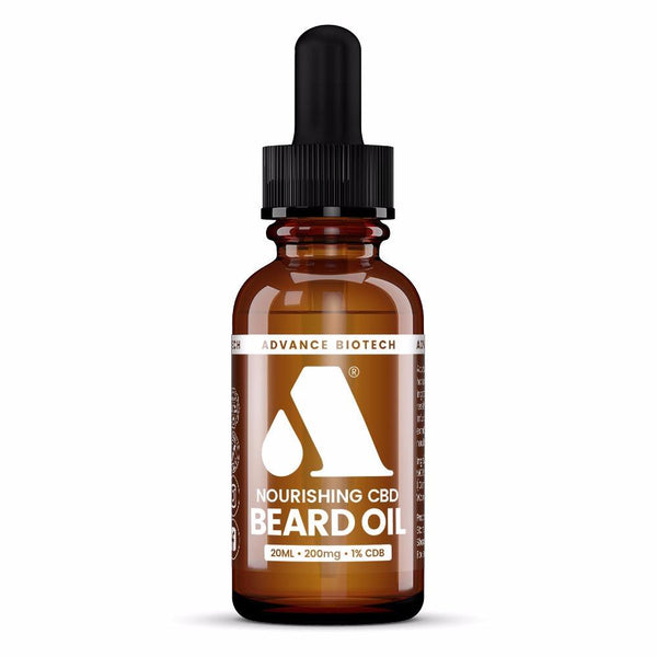 CBD Beard Oil 1% 20ml – 200mg CBD - OIKOSPIRAL