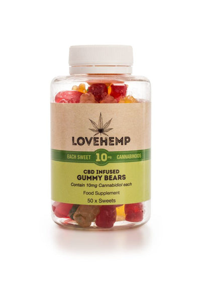 Love Hemp® CBD Gummy Bears – 10mg CBD per Bear - OIKOSPIRAL