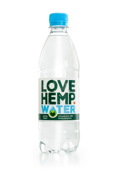 Love Hemp® CBD Water – 500ml - OIKOSPIRAL