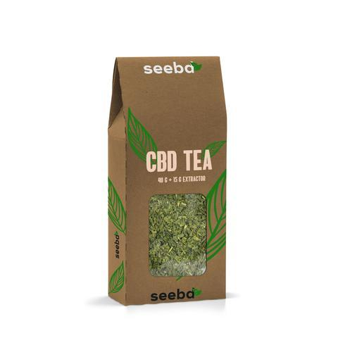 GREEN BRITISH CBD TEA - OIKOSPIRAL
