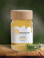 Organic Rosemary Honey - 420g Jar - OIKOSPIRAL