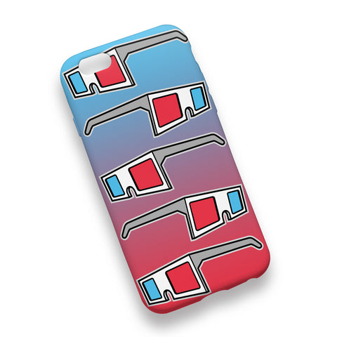 3D Glasses Phone Case