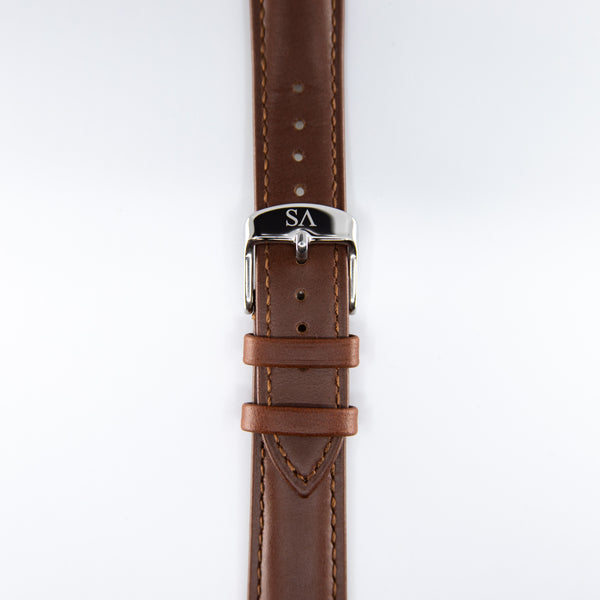 Brown | Silver buckle