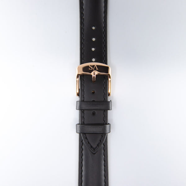 Black | Rose buckle