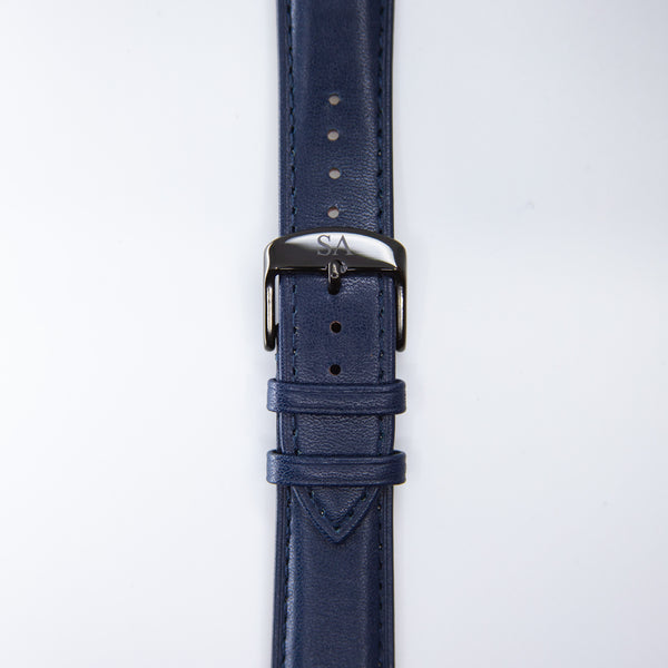 Navy | Black buckle