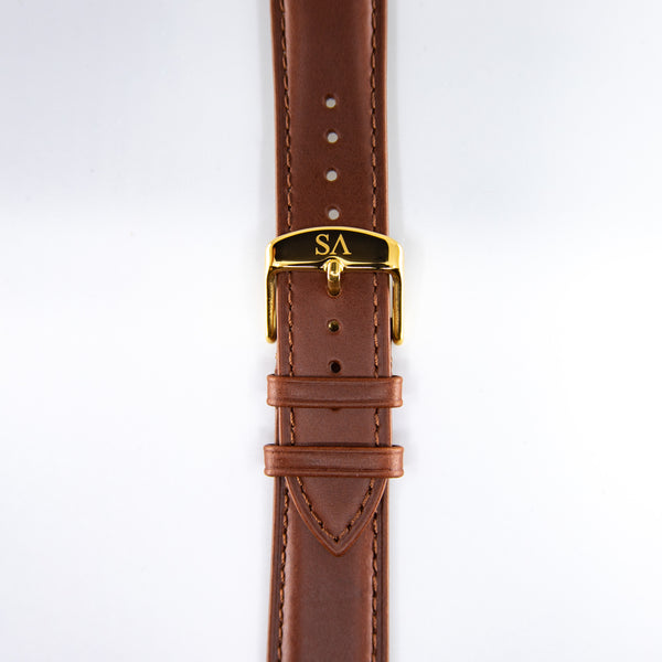 Brown | Gold buckle