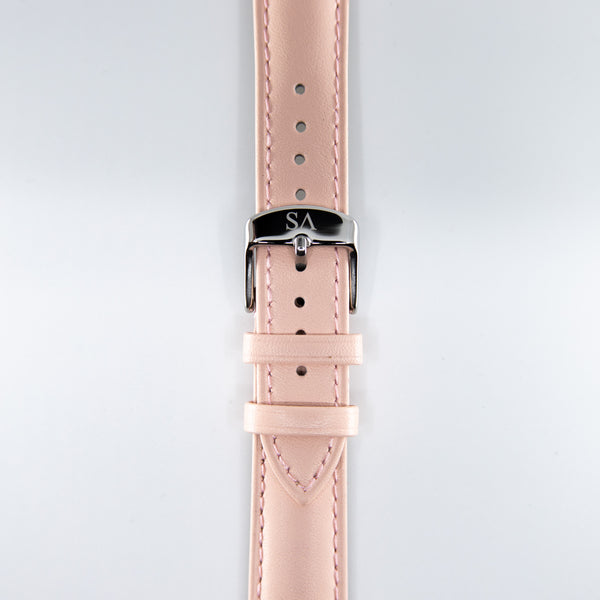 Pink | Silver buckle