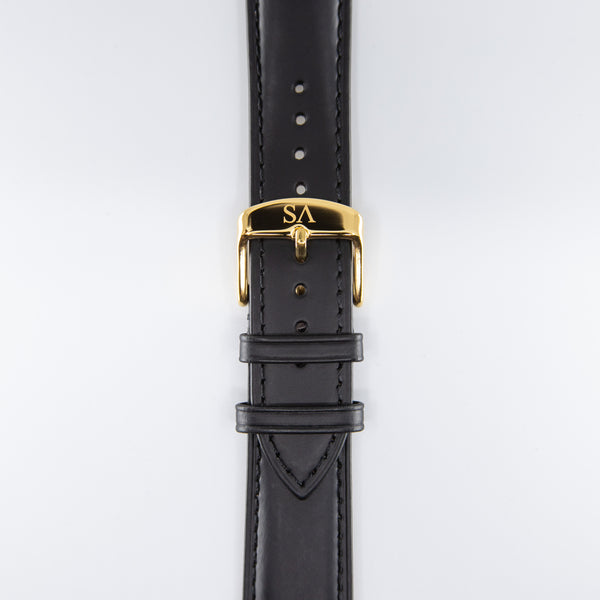 Black | Gold buckle