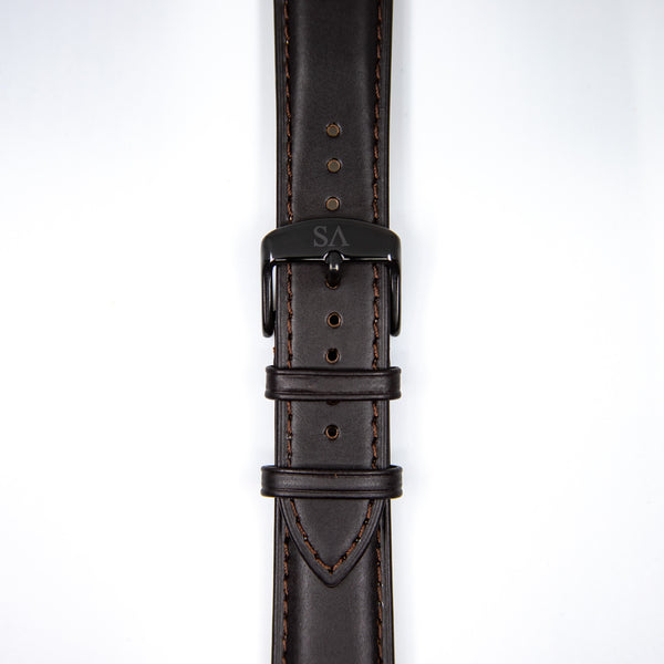 Wood | Black buckle