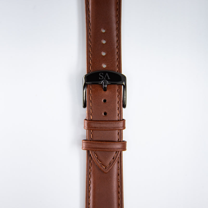 Brown | Black buckle