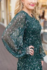 Lacey Dress - Green