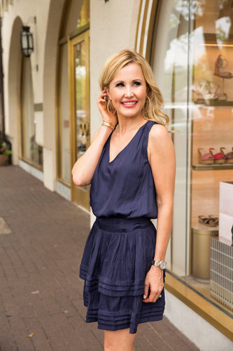 Ashley Dress- Navy