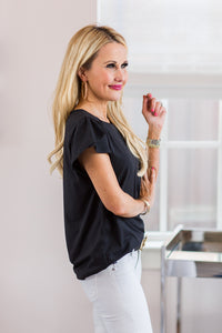 Lexi Top- Black