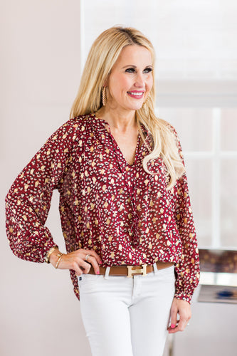 Georgia Top - Red