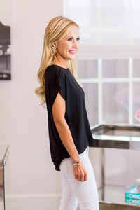 Sadie Top- Black