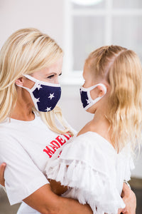 Star Face Masks- Mom and Mini Me