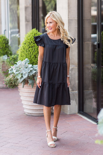 Georgia Dress- Black
