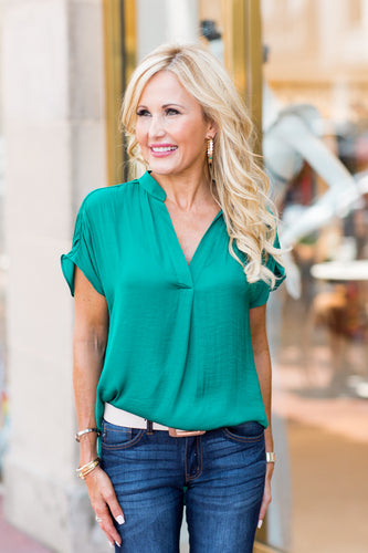 Savannah Top- Green