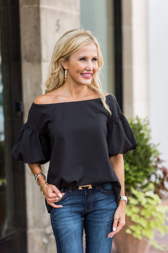Sabine Top- Black
