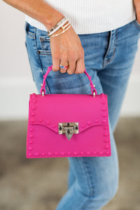Clarissa Bag- Fuschia