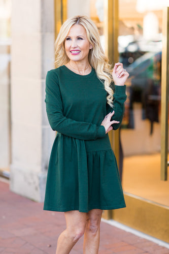 Kylie Dress- Green