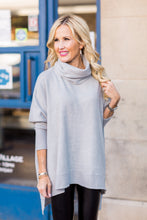 Christy Top- Heather Gray