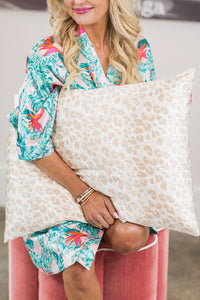 Satin Pillowcase- Leopard