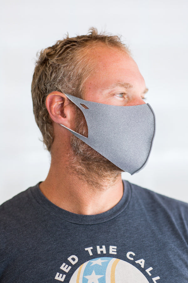 Adult Face Mask- Gray