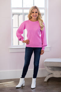 Sutton Sweater- Pink