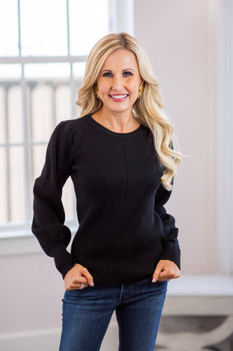 Sutton Sweater- Black