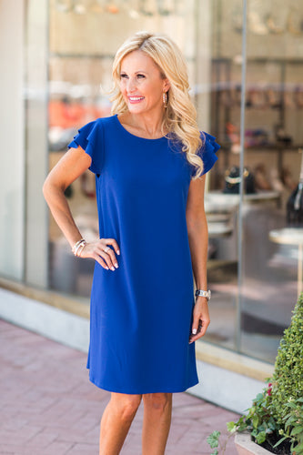 Eva Dress- Blue