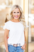 Beckley Top- Ivory
