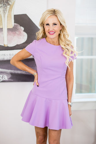 Lena Dress - Lavender