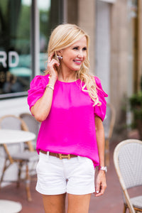 Buffy Top- Pink