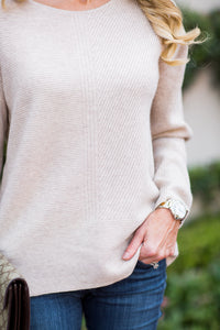 Katie Sweater- Oatmeal