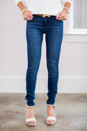 Olivia Higher Mid Rise Classic Skinny Jeans
