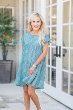 Kimberly Dress- Teal